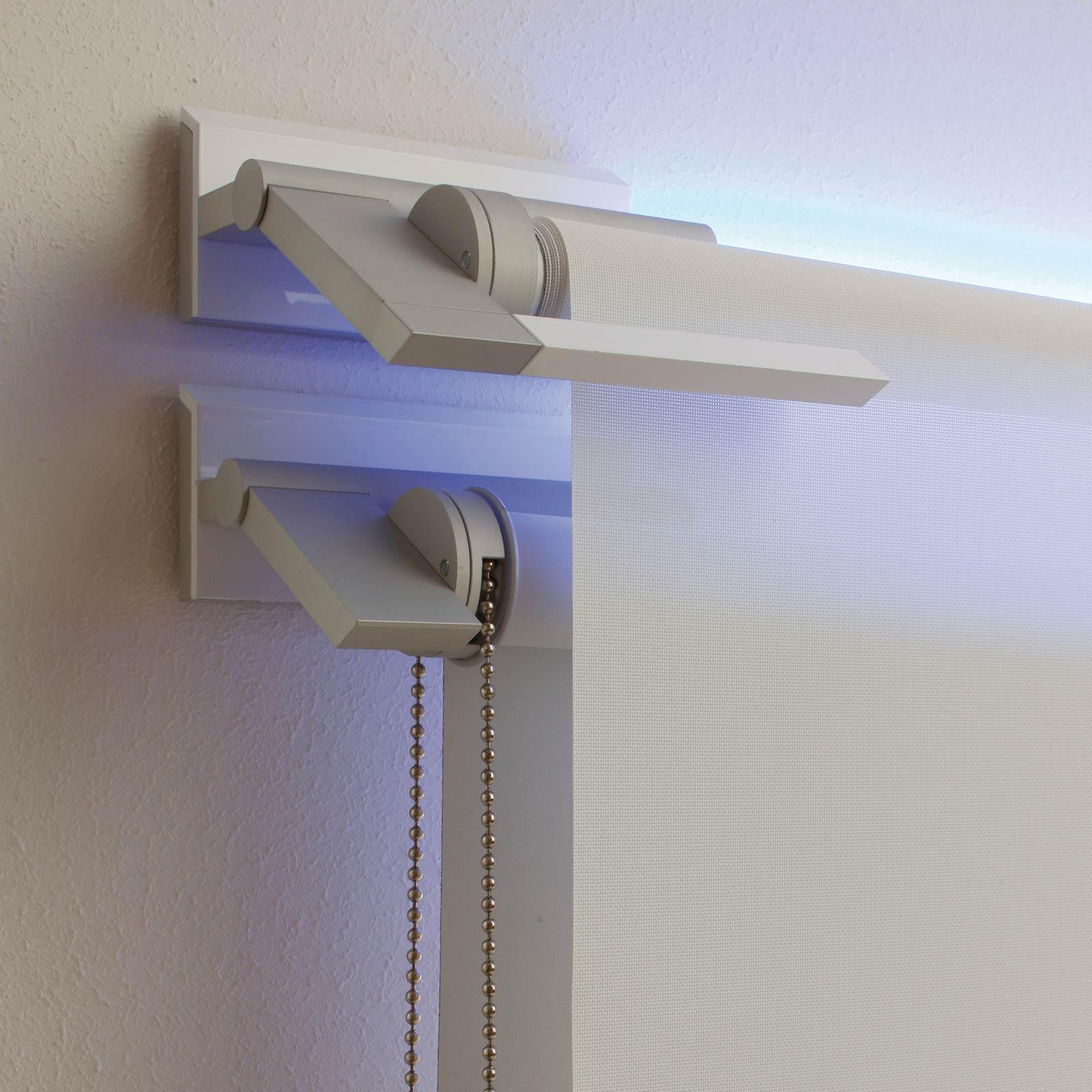 Hypno Wall Double — A parete con led RGB