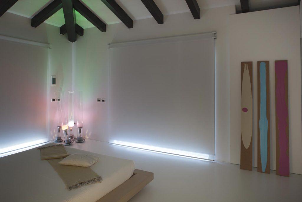 Trey Wall - doppelte Version - mit 100 % verdunkelndem und filterndem Stoff.
